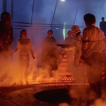 """One alternate """"Rogue One"""" ending had everyone frozen in carbonite, so that's a thing"""