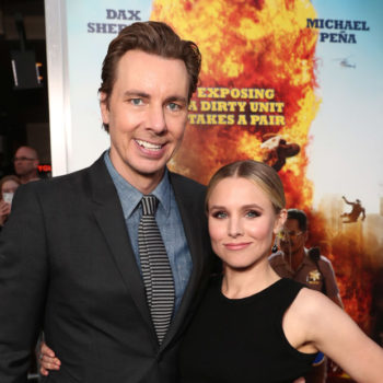 """Kristen Bell and Dax Shepard give us an inside look at their """"Hamilton"""" date night"""