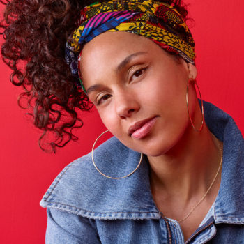 Alicia Keys had the best response for Adam Levine's comments about her no makeup routine