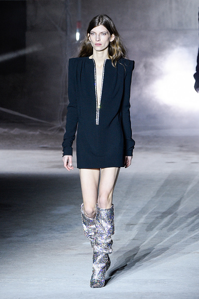 e23205f7c2a Those Saint Laurent glitter boots cost more than some cars — and ...