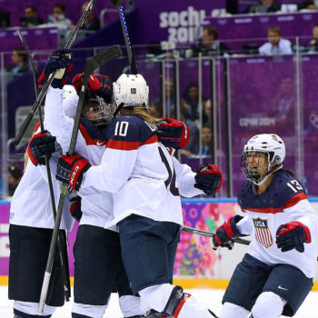 The U.S. Women's Hockey Team wins one for us all by asking for equal treatment