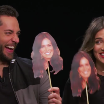 Mandy Moore and Zachary Levi played the Newlywed game, and they could not possibly be any cuter