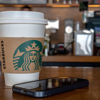 Starbucks is working to create a human-free coffee ordering experience