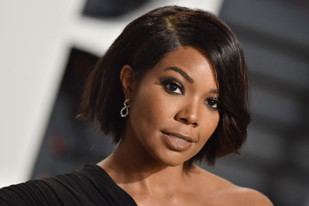 gabrielle union hair styles gabrielle union s makeup free selfie is inspiring us to go 9557