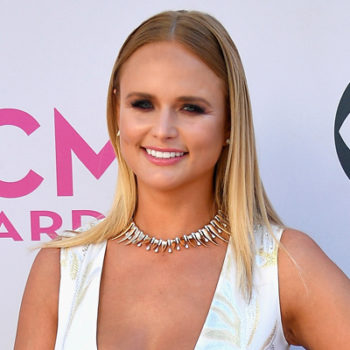 Miranda Lambert's red carpet look at the ACM Awards is giving us serious wedding vibes
