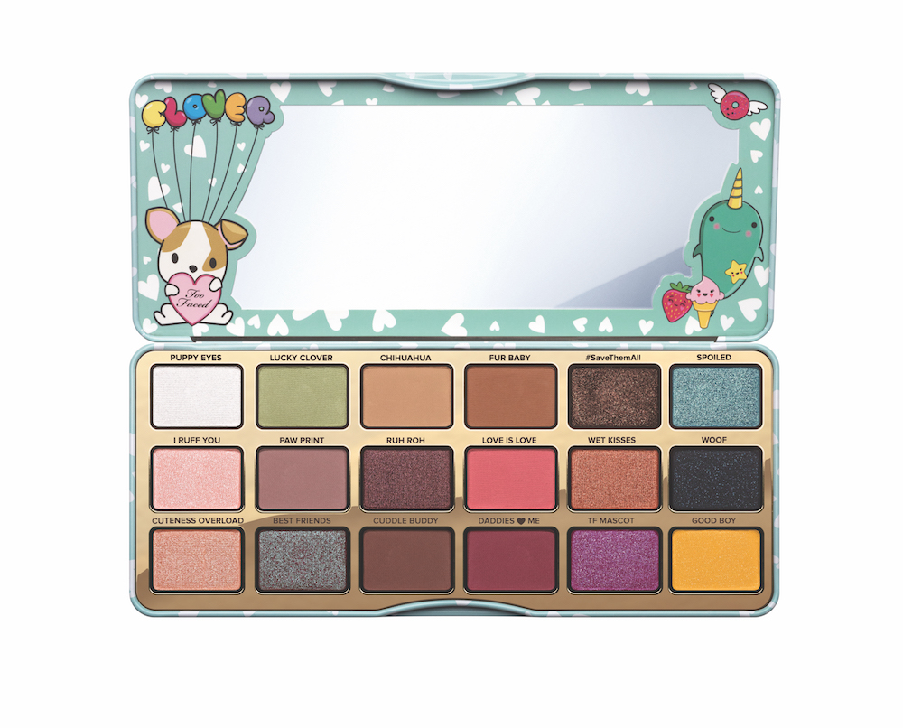 Too Faced finally showed us what the Clover palette looks