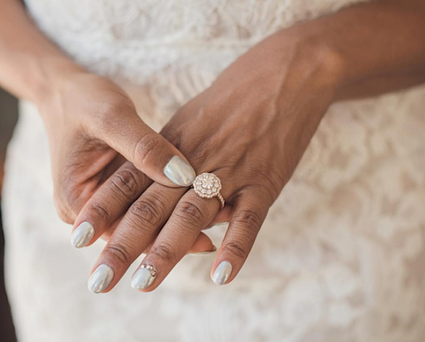 22 Bridal Nail Art Ideas That Would Make Your Big Day Even More