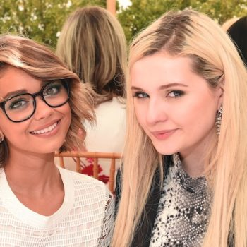 "The first pics from the Abigail Breslin and Sarah Hyland ""Dirty Dancing"" remake are here, and they're red hot"