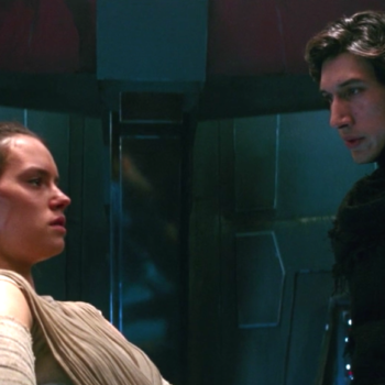 """Watch Kylo Ren awkwardly flirt with Rey in the """"Star Wars: Force Awakens"""" bad lip reading"""