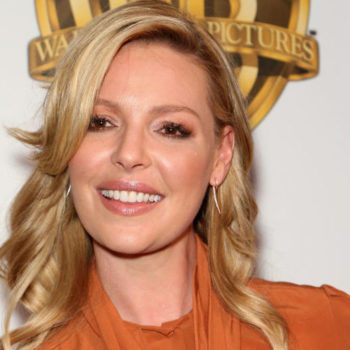 Katherine Heigl knows just how to end a long work day