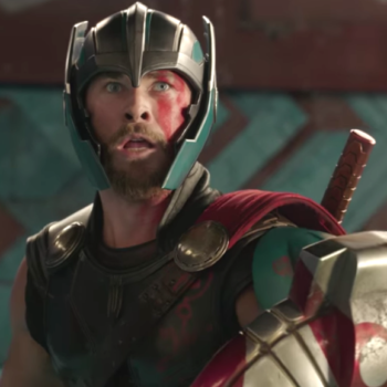 "Thor might have lost his hammer, but he's still got his sense of humor in the first ""Ragnarok"" teaser"
