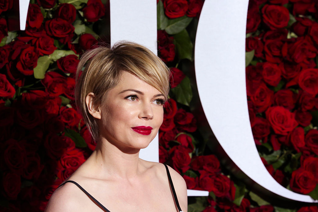 Michelle Williams attends the 70th Annual Tony Awards at the Beacon Theater on June 12, 2016 in New York City.