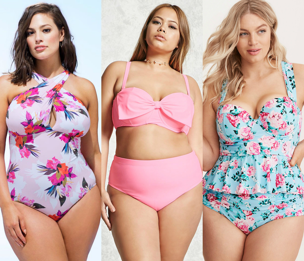000b044f3be Here are 21 cute plus-size swimsuits that you'll want to wear even when  you're not at the beach - HelloGiggles