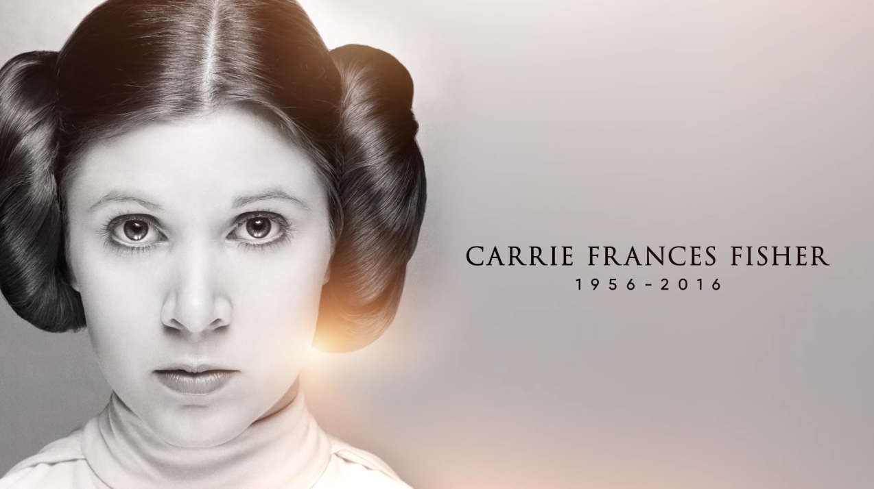 """Here's the touching tribute """"Star Wars"""" gave Carrie Fisher, and it will have you laughing and crying"""