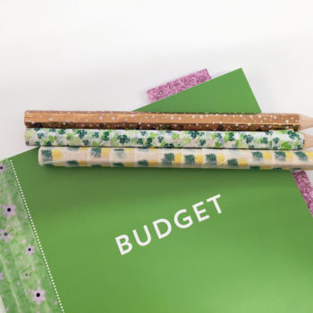 From dreary to cheery: Use washi tape to update your workspace for spring