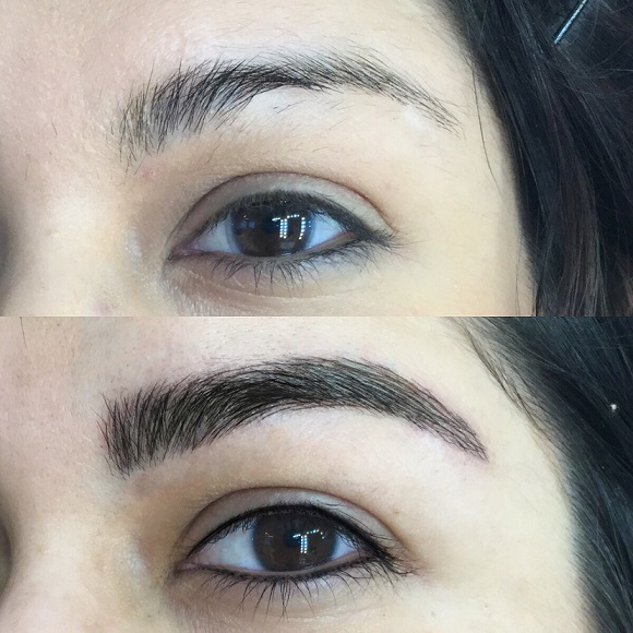 This is what microblading your eyebrows is REALLY like