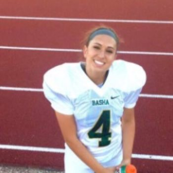 This teenager just became the first-ever woman to win a football scholarship