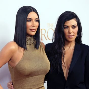 Kourtney Kardashian posted a few amazing flashback Easter pics of her and Kim that are *killing* us