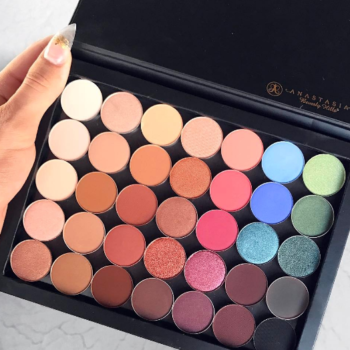 Beauty guru James Charles teased a new custom palette from Anastasia Beverly Hills