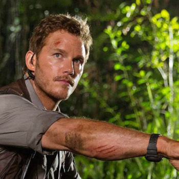 "Chris Pratt just shot down THAT ""Jurassic Park"" theory, and save your dinosaur tears"