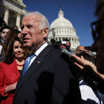 Joe Biden signed *that* picture of himself for two fans, proving he's still got it
