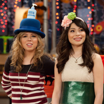 "There was an ""iCarly"" reunion, and it happened in a place you wouldn't expect"