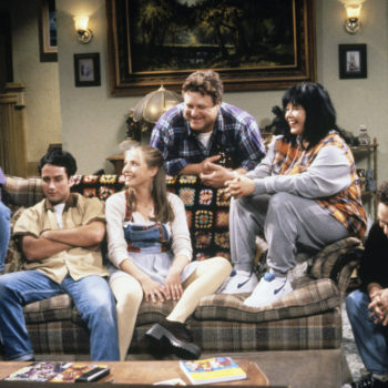 "The first picture from the ""Roseanne"" revival is here, and we've missed the Conners so much"