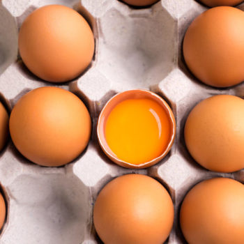 This is why egg yolks are orange, in case you were wondering