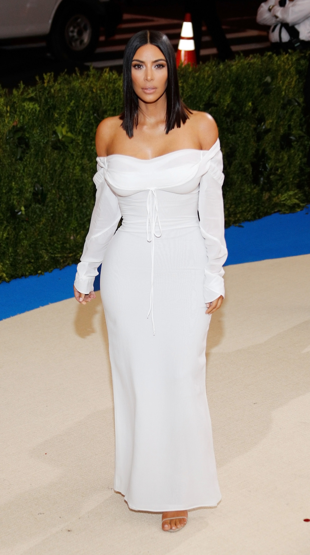 NEW YORK, NY - MAY 01:  Kim Kardashian attends 'Rei Kawakubo/Comme des Garçons:Art of the In-Between' Costume Institute Gala at Metropolitan Museum of Art on May 1, 2017 in New York City.  (Photo by Jackson Lee/FilmMagic)