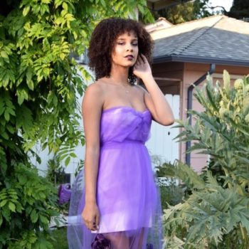 This teen designed her own prom dress for $15, and she could have easily worn it to the Met Gala