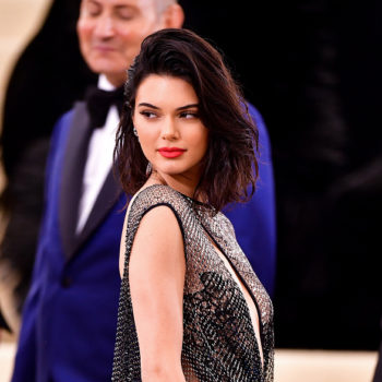 Kendall Jenner's barely-there Met Gala dress featured 85,000 crystals and VERY minimal fabric