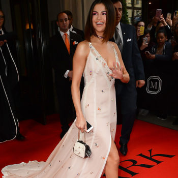Selena Gomez's shattered glass manicure was the most underrated beauty moment of the Met Gala