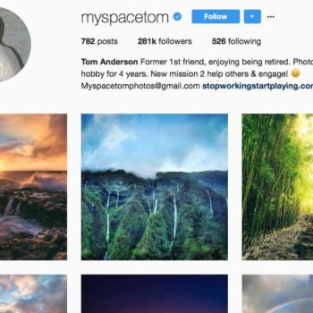 Myspace Tom is actually an incredible travel photographer