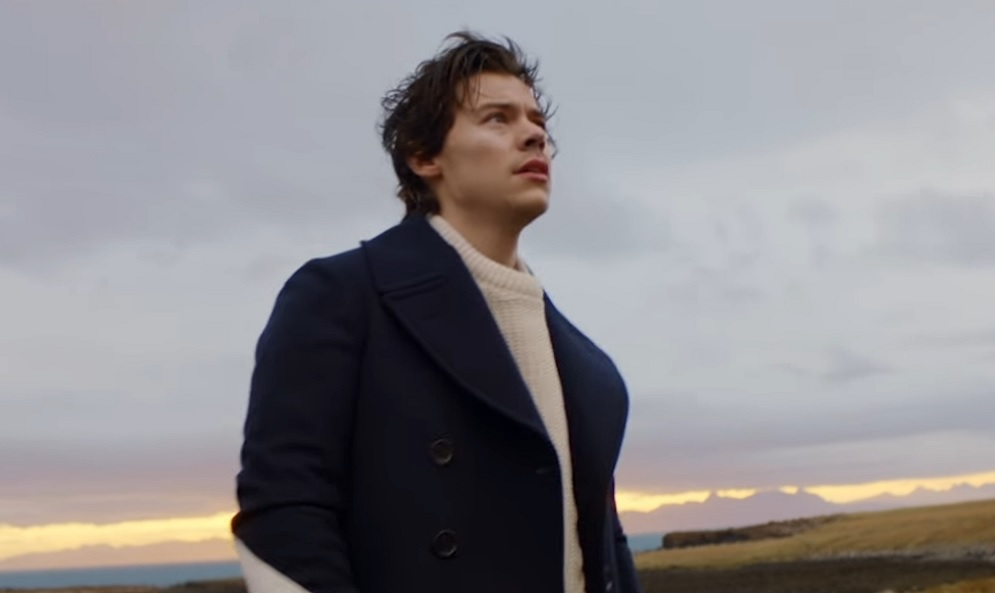 Harry Styles Literally Soars In His New Video For Sign Of The