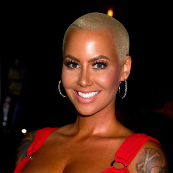 Flirt Cosmetics is launching eyeshadow duos tomorrow, and Amber Rose already rocked it on the red carpet