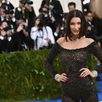 Bella Hadid has a really good outlook about surviving a breakup