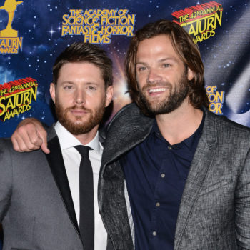 """Supernatural's"" Jared Padalecki and Jensen Ackles could not be cuter in this backstage clip"