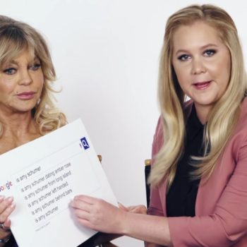 Amy Schumer and Goldie Hawn just answered the most-Googled questions about themselves