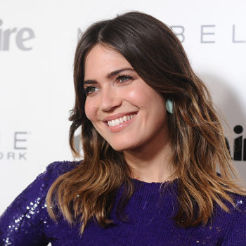 "Here's where you can buy Mandy Moore's rainbow ""spectrum bracelets"""
