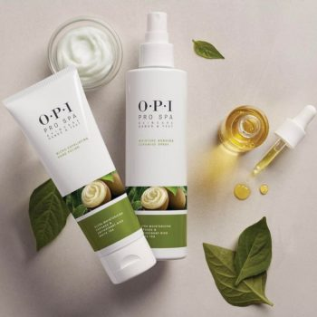 O.P.I. is launching a ProSpa line, and it's like facial skin care for your hands and feet