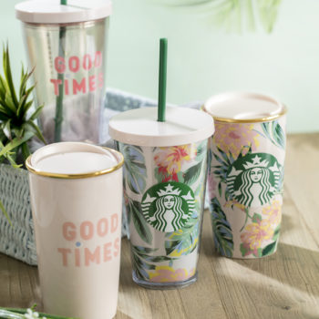 Starbucks and Ban.do collaborated on a collection that makes us want to drink iced coffee poolside