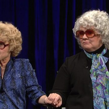 "Please give Melissa McCarthy and Kate McKinnon's screen sirens from ""Saturday Night Live"" their own movie"