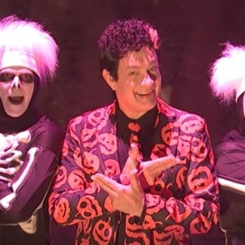 """According to the writers at """"SNL,"""" David S. Pumpkins was almost a very different character"""