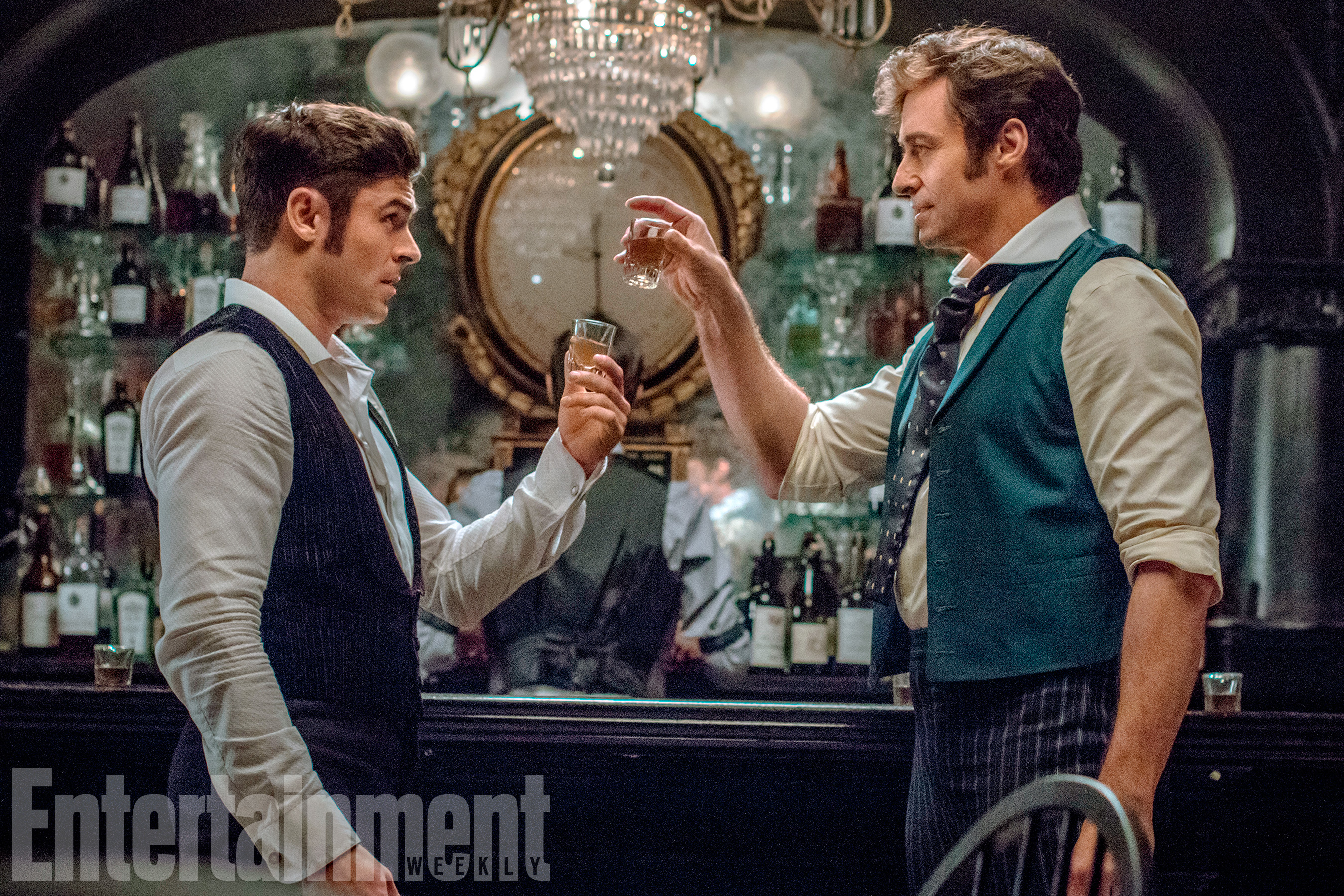 The Greatest Showman (2017)                               Zac Efron and Hugh Jackman
