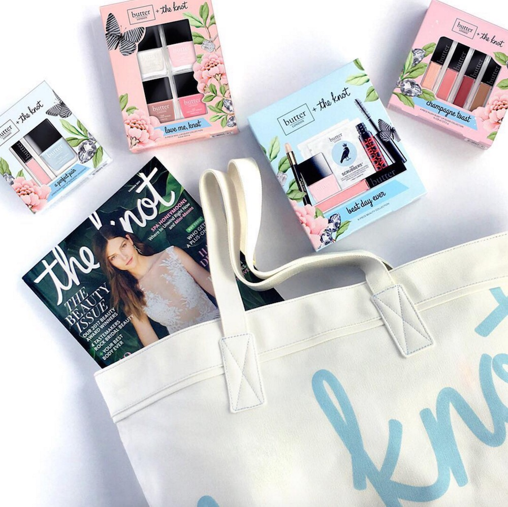 "Just in time for wedding season, ""The Knot"" and Butter London teamed up for bridal-inspired beauty collection"