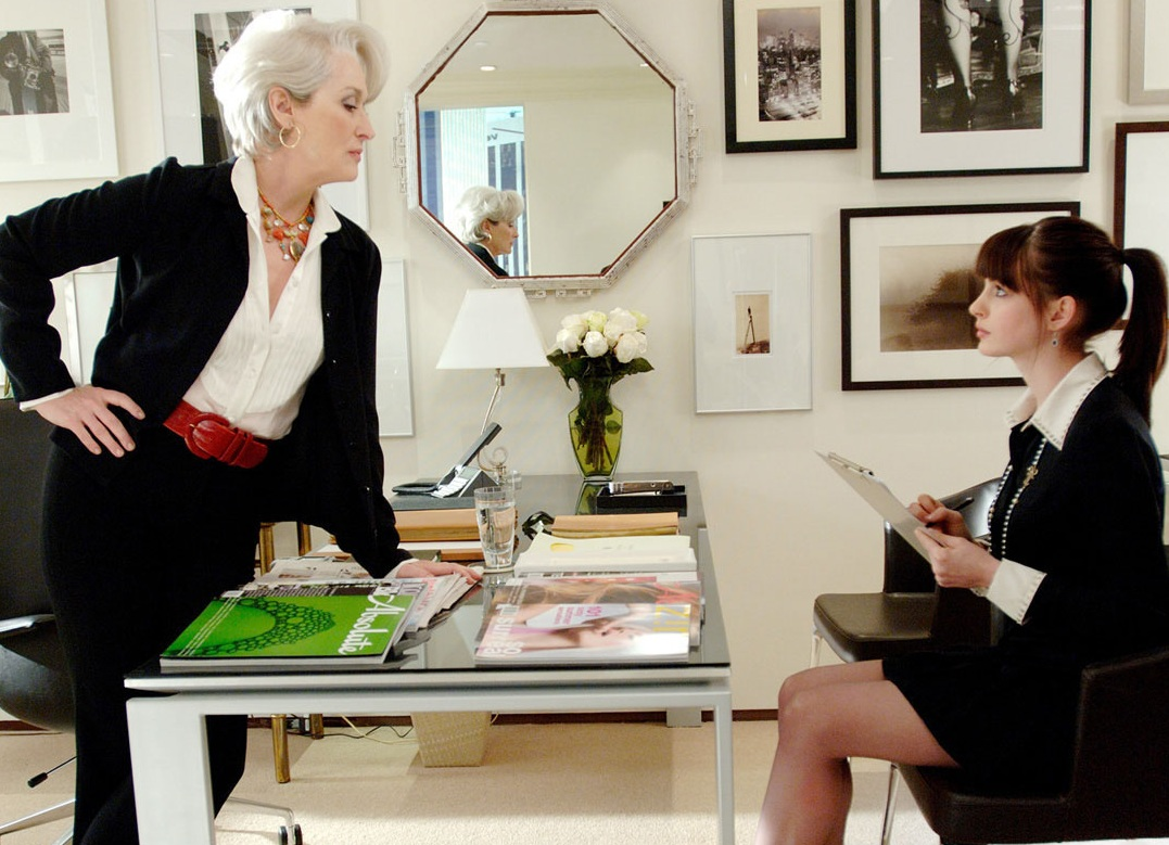 Scene from Devil Wears Prada