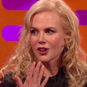 Apparently you should really never, ever surprise Nicole Kidman