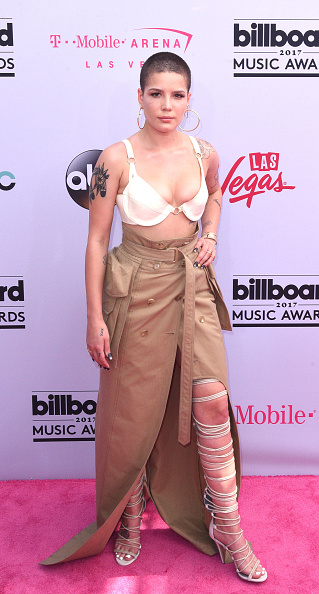 Halsey Proved That The Bra Is The New Crop Top At The