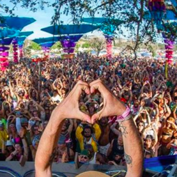 This festival is basically Coachella for yogis, and we're so intrigued