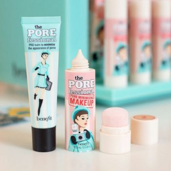 Benefit Cosmetics blessed us with new pore-minimizing makeup from its Porefessional line
